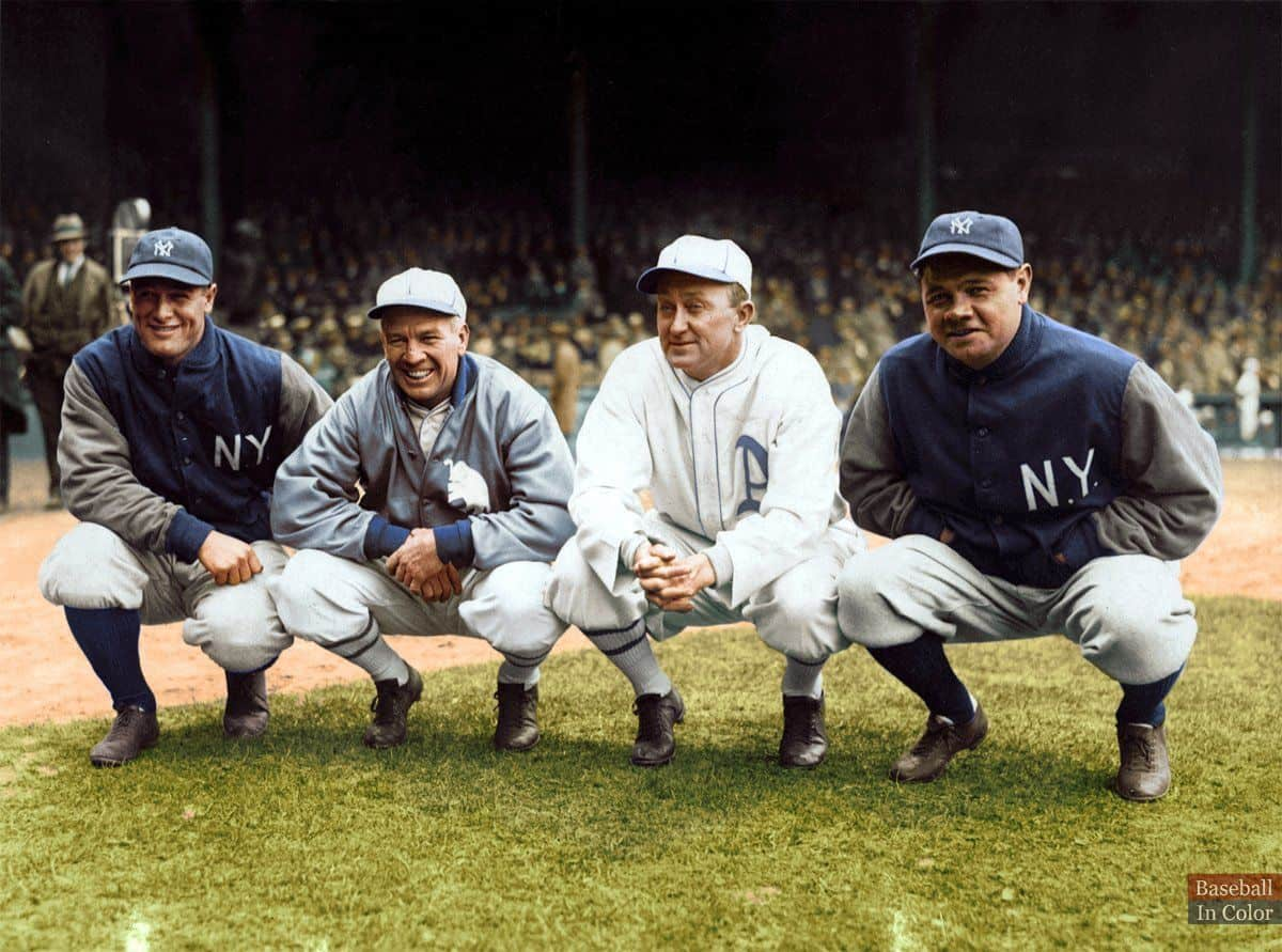Gehrig, Speaker, Cobb, and Ruth