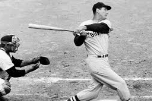 Ted Williams Swinging