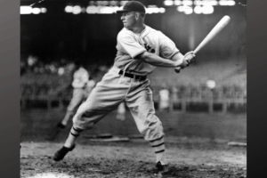 mel ott at the plate