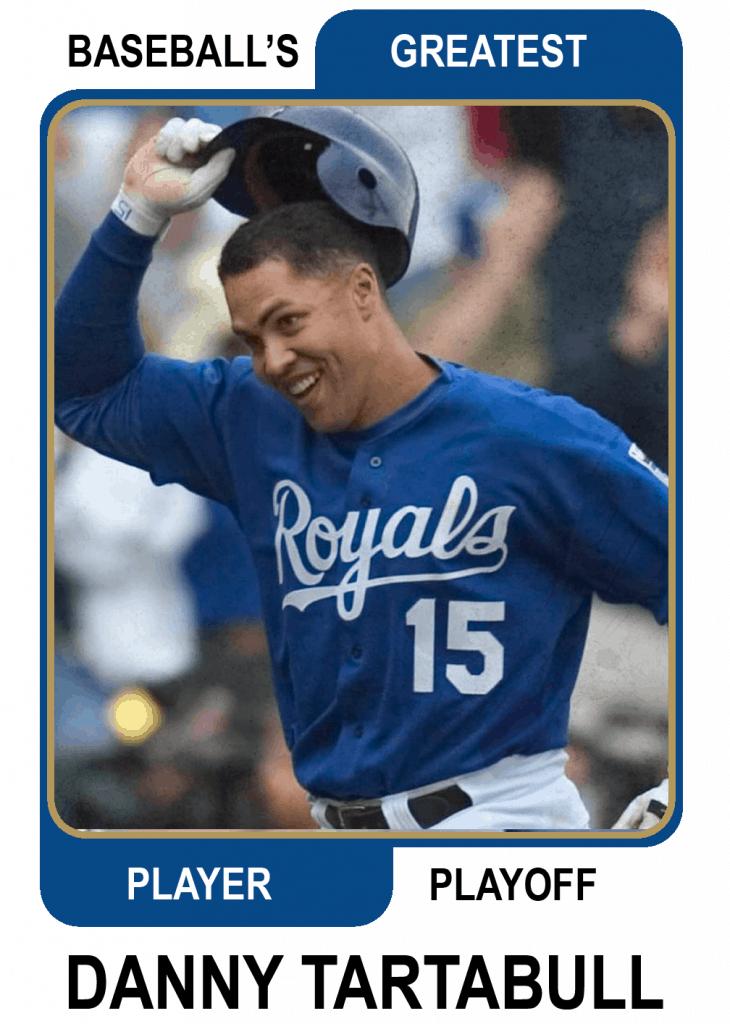 Danny-Tartabull-Card Baseballs Greatest Player Playoff