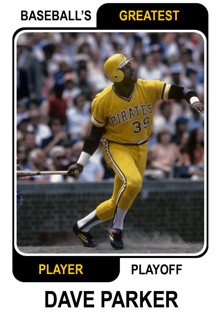 Dave-Parker-Card Baseballs Greatest Player Playoff