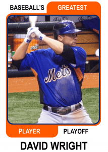 David-Wright-Card Baseballs Greatest Player Playoff