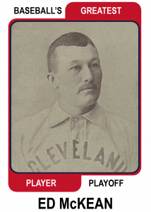 Ed-McKean-Card Baseballs Greatest Player Playoff