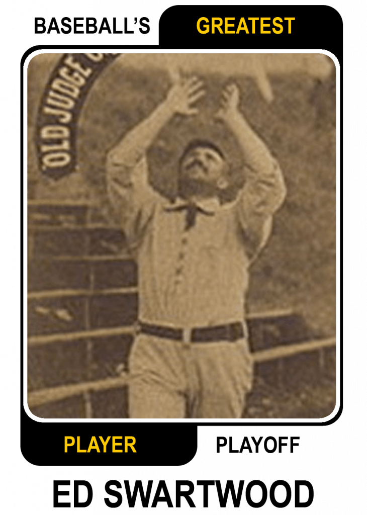Ed-Swartwood-Card Baseballs Greatest Player Playoff