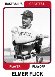 Elmer-Flick-Card Baseballs Greatest Player Playoff