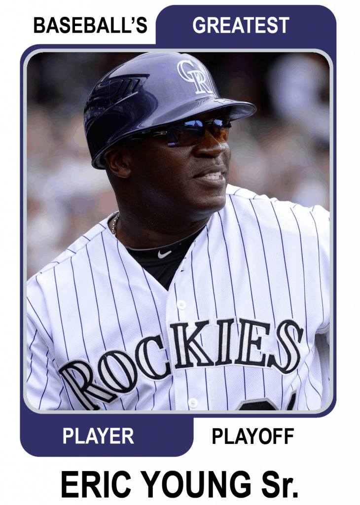 Eric-Young-Sr-Card Baseballs Greatest Player Playoff