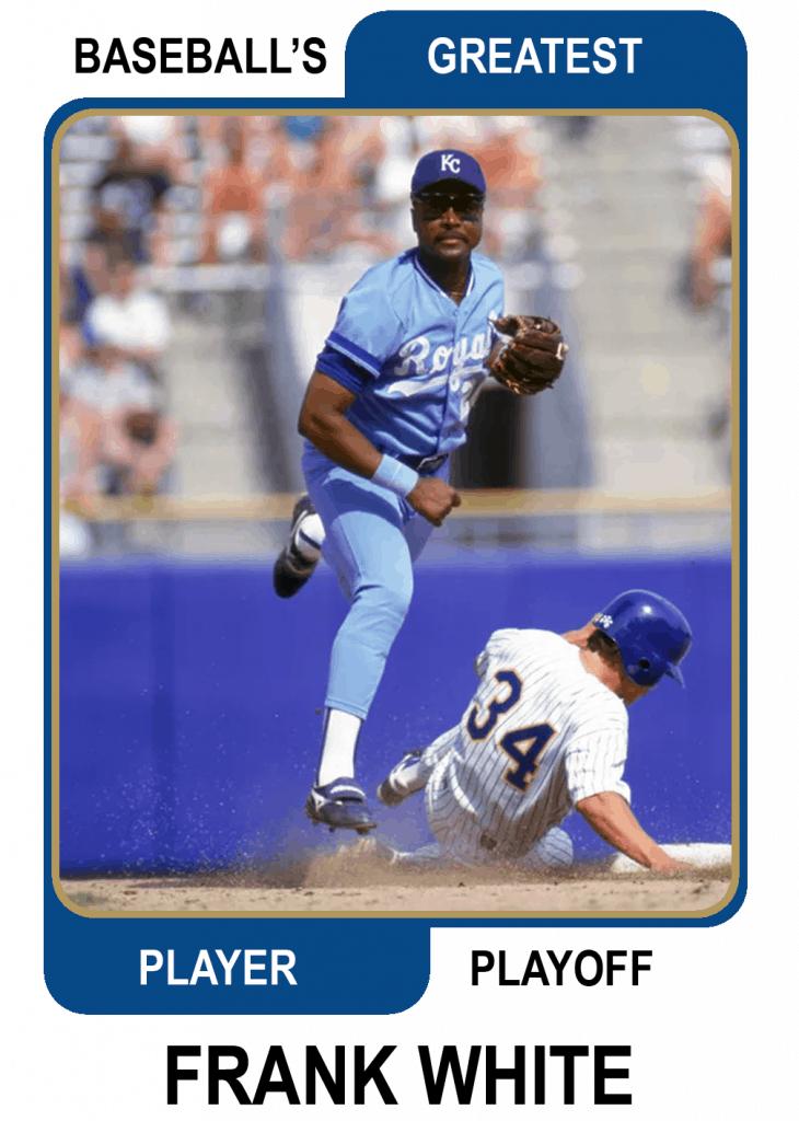 Frank-White-Card Baseballs Greatest Player Playoff