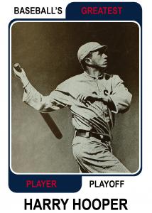 Harry-Hooper-Card Baseballs Greatest Player Playoff