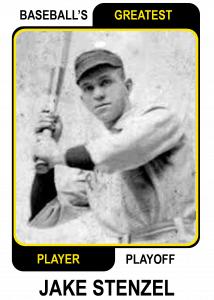 Jake-Stenzel Baseballs Greatest Player Playoff Card
