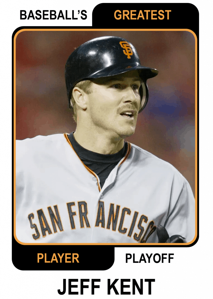 Jeff-Kent-Card Baseballs Greatest Player Playoff Card
