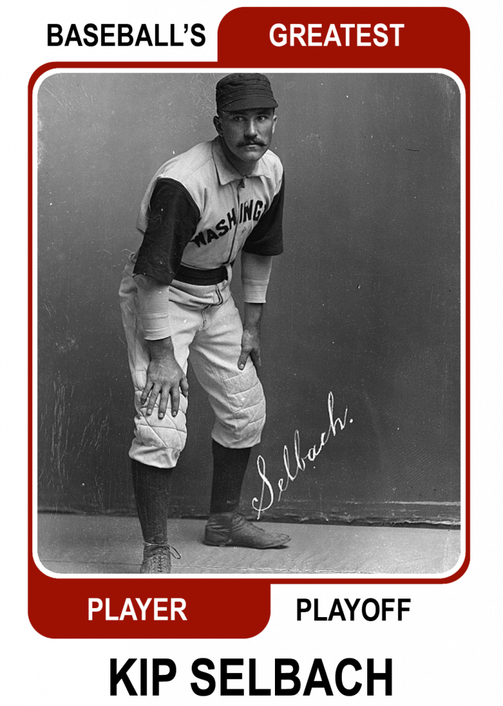 Kip-Selbach-Card Baseballs Greatest Player Playoff