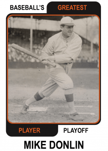 Mike-Donlin-Card Baseballs Greatest Player Playoff
