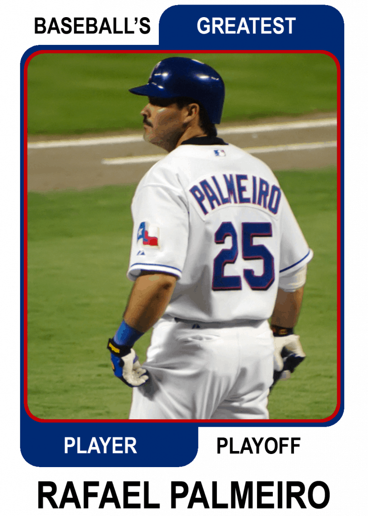 Rafael-Palmeiro-Card Baseballs Greatest Player Playoff