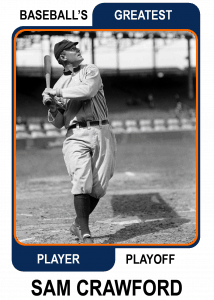 Sam-Crawford-Card Baseballs Greatest Player Playoff