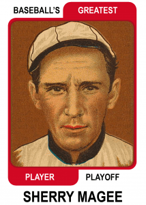 Sherry-Magee-Card Baseballs Greatest Player Playoff