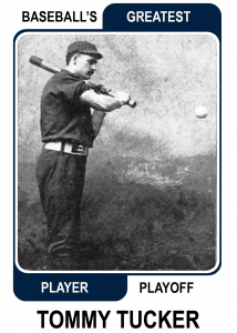 Tommy-Tucker-Card Baseballs Greatest Player Playoff