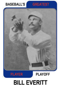 Bill-Everitt-Card Baseballs Greatest Player Playoff