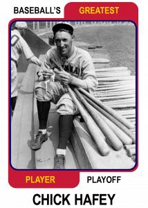 Chick-Hafey-Card Baseballs Greatest Player Playoff