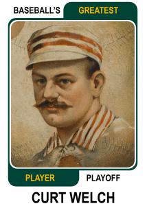 Curt-Welch-Card Baseballs Greatest Player Playoff