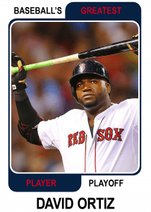 David-Ortiz-Card Baseballs Greatest Player Playoff