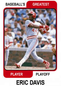 Eric-Davis-Card Baseballs Greatest Player Playoff