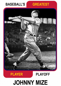 Johnny-Mize-Card Baseballs Greatest Player Playoff