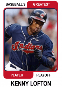 Kenny-Lofton-Card Baseballs Greatest Player Playoff