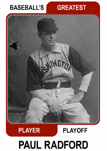 Paul-Radford-Card Baseballs Greatest Player Playoff
