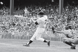 Mickey Mantle Swing