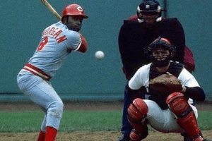 Joe Morgan at the plate