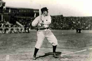 Bill Dahlen at the plate