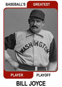 Bill-Joyce-Card Baseballs Greatest Player Playoff