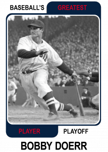 Bobby-Doerr-Card Baseballs Greatest Player Playoff