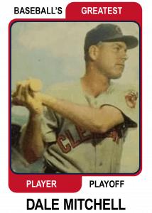 Dale-Mitchell-card Baseballs Greatest Player Playoff