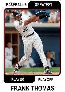 Frank-Thomas-Card Baseballs Greatest Player Playoff