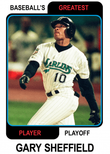 Gary-Sheffield-Card Baseballs Greatest Player Playoff