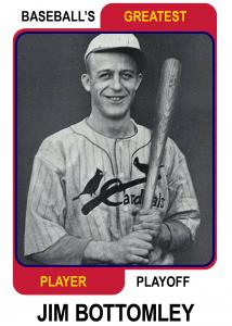 Jim-Bottomley-Card Baseballs Greatest Player Playoff