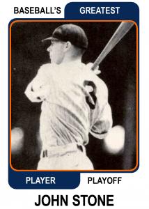 John-Stone-Card Baseballs Greatest Player Playoff