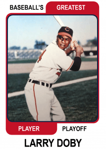 Larry-Doby-Card Baseballs Greatest Player Playoff