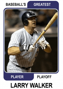 Larry-Walker-Card Baseballs Greatest Player Playoff