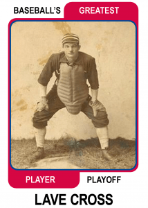 Lave-Cross-Card Baseballs Greatest Player Playoff