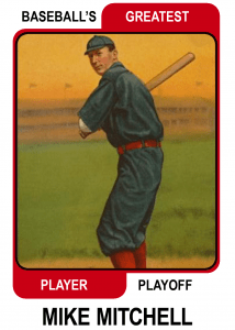 Mike-Mitchell-Card Baseballs Greatest Player Playoff
