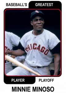 Minnie-Minoso-Card Baseballs Greatest Player Playoff