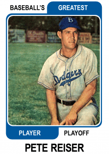 Pete-Reiser-Card Baseballs Greatest Player Playoff