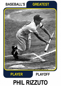 Phil-Rizzuto-Card Baseballs Greatest Player Playoff