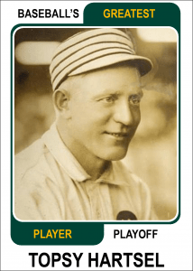 Topsy-Hartsel-Card Baseballs Greatest Player Playoff
