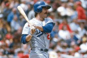 Bill Buckner Swinging