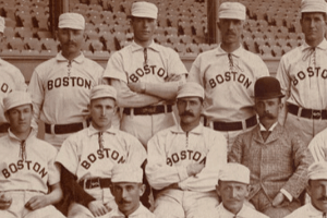 Patsy Donovan and Boston Beaneaters