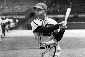 Luke Appling Swinging
