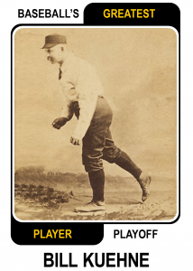 Bill-Kuehne-Card Baseballs Greatest Player Playoff